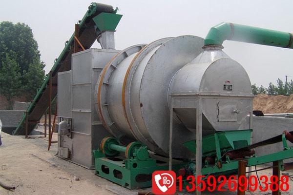 结构优化使三筒烘干机的生产量得到增加