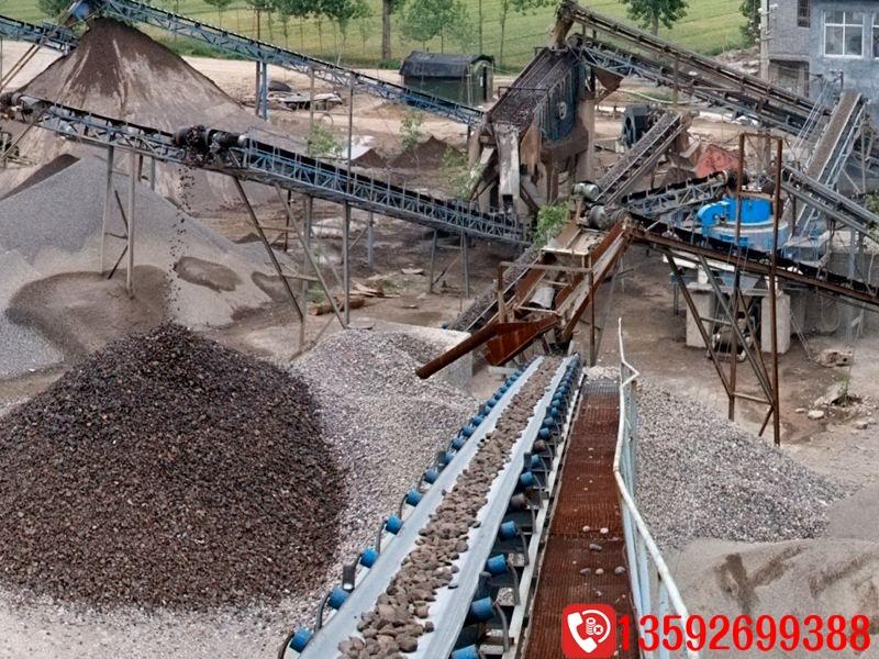 年产100万吨机制砂生产线设备配置及价格