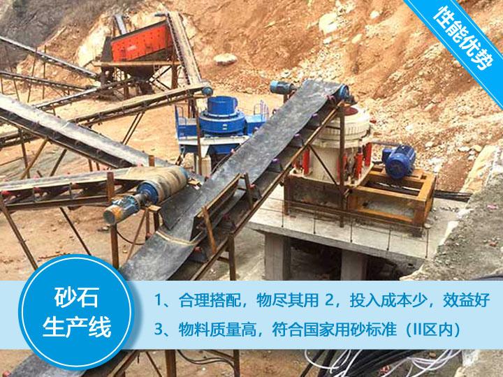 专用砂石生产设备,生产高效,投入成本少